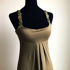 Cache Olive Green Military Dress